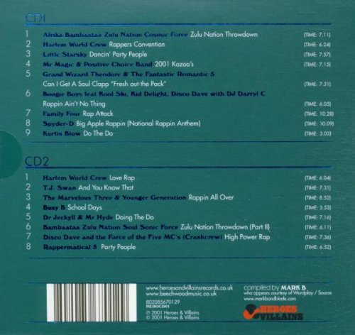 Various Artists – Harlem World [The Sound Of The Big Apple Rappin
